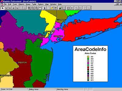 Telecommunications Maps and Data SGSI