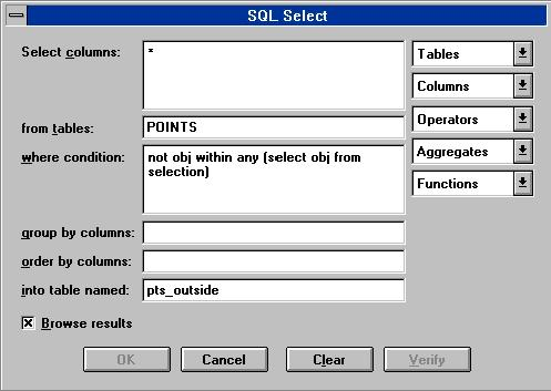 SQL Select: The